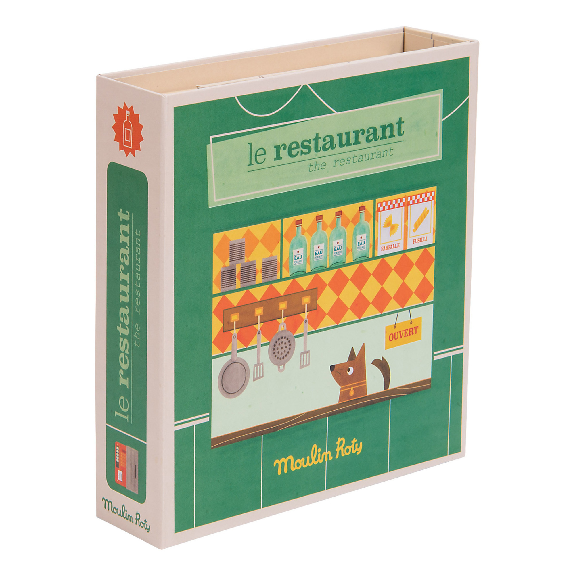 Moulin Roty Les Coffets Metier Restaurant Set