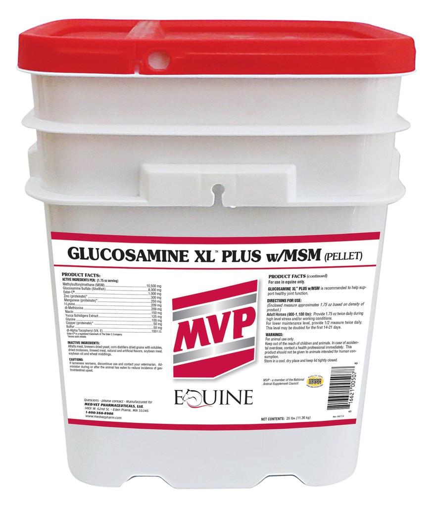 Glucosamine XL (Plus) w/MSM (Pellets)