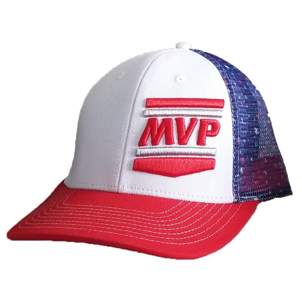 cb243910a MVP Hat (Navy Star Mesh)