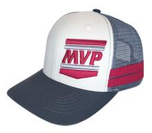 MVP Hat (Grey/White)