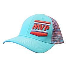 MVP Hat (Turquoise/Aztec Mesh)