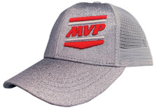 MVP Hat (Silver Glitter w/ Ponytail)