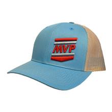 Richardson Trucker Cap (Light Blue/Khaki)