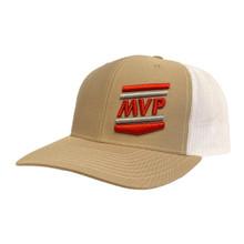 Richardson Trucker Cap (Khaki/White)