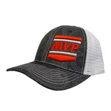 MVP Hat (Black/Paisely Print)