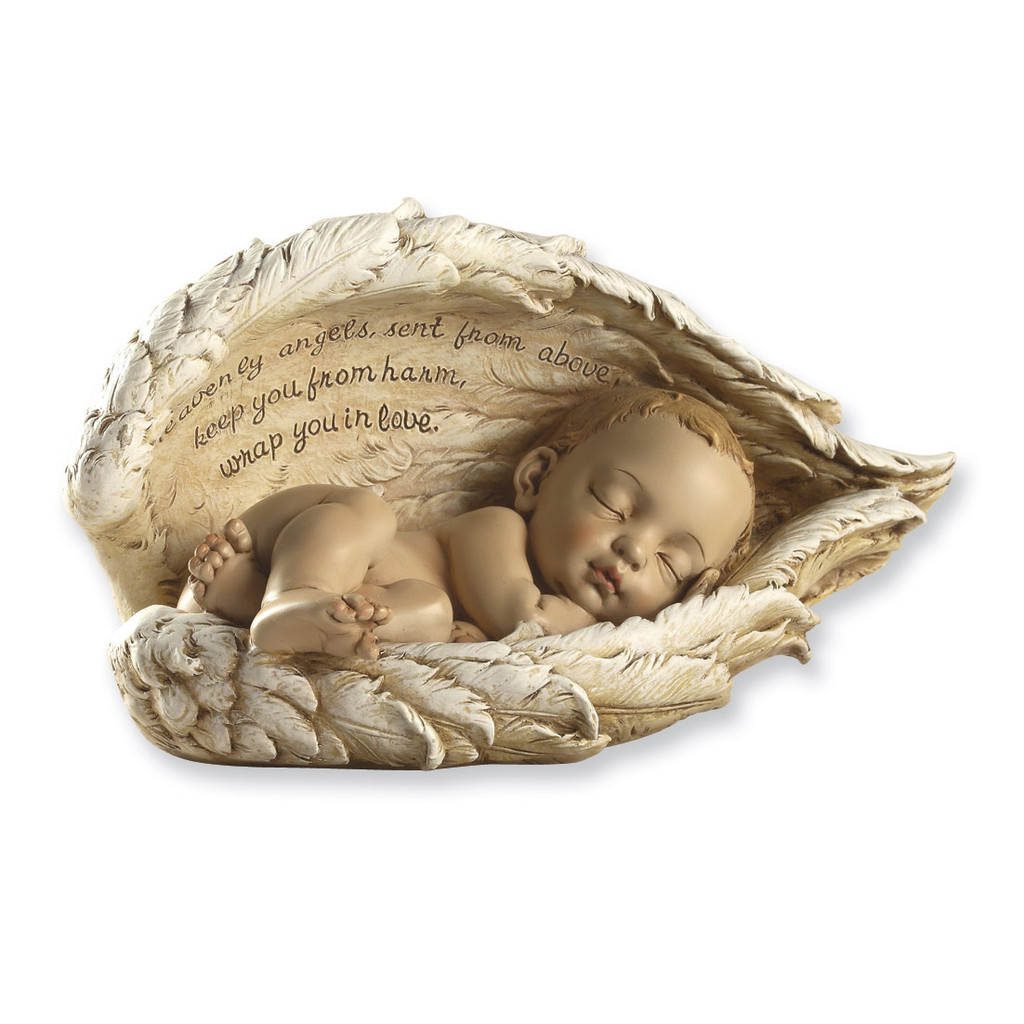 Joseph's Studio Guardian Angel Baby Figurine GM2435