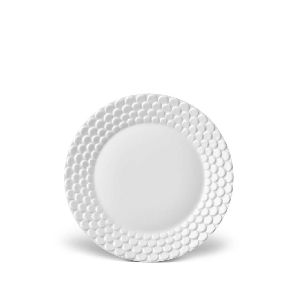 L'Objet Aegean Bread Butter Plate - White MPN: AG1400