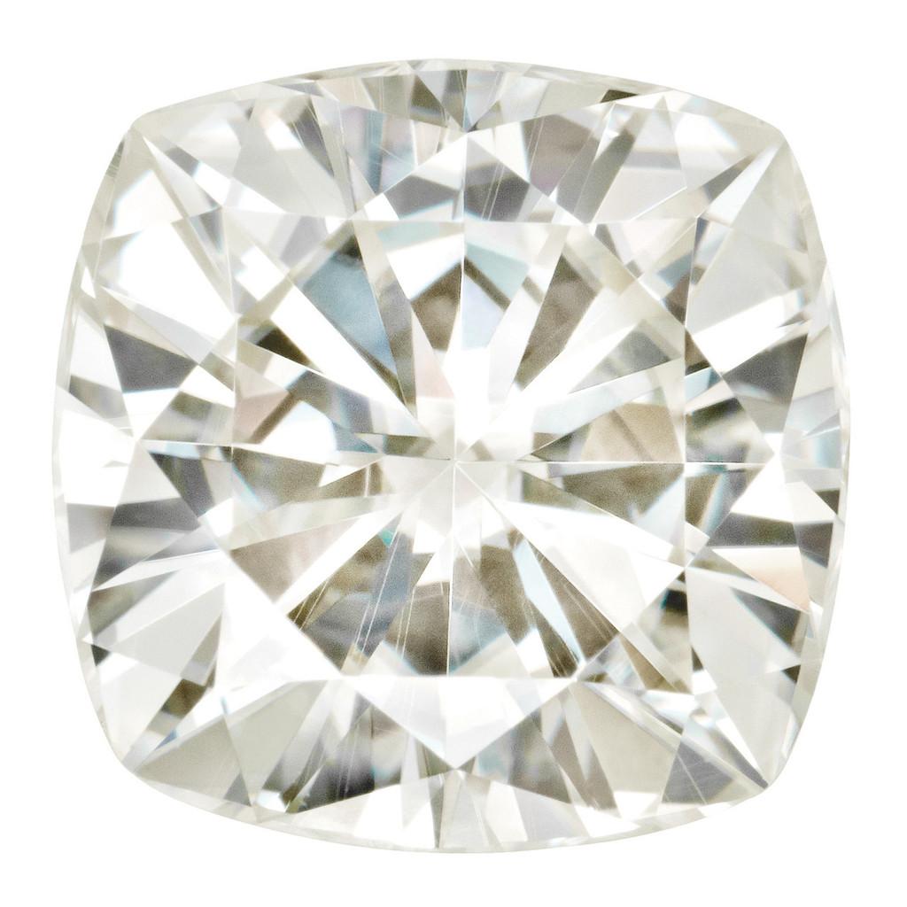 5 mm Sq Cush Moissanite Stone White MT-0500-CUF-WH
