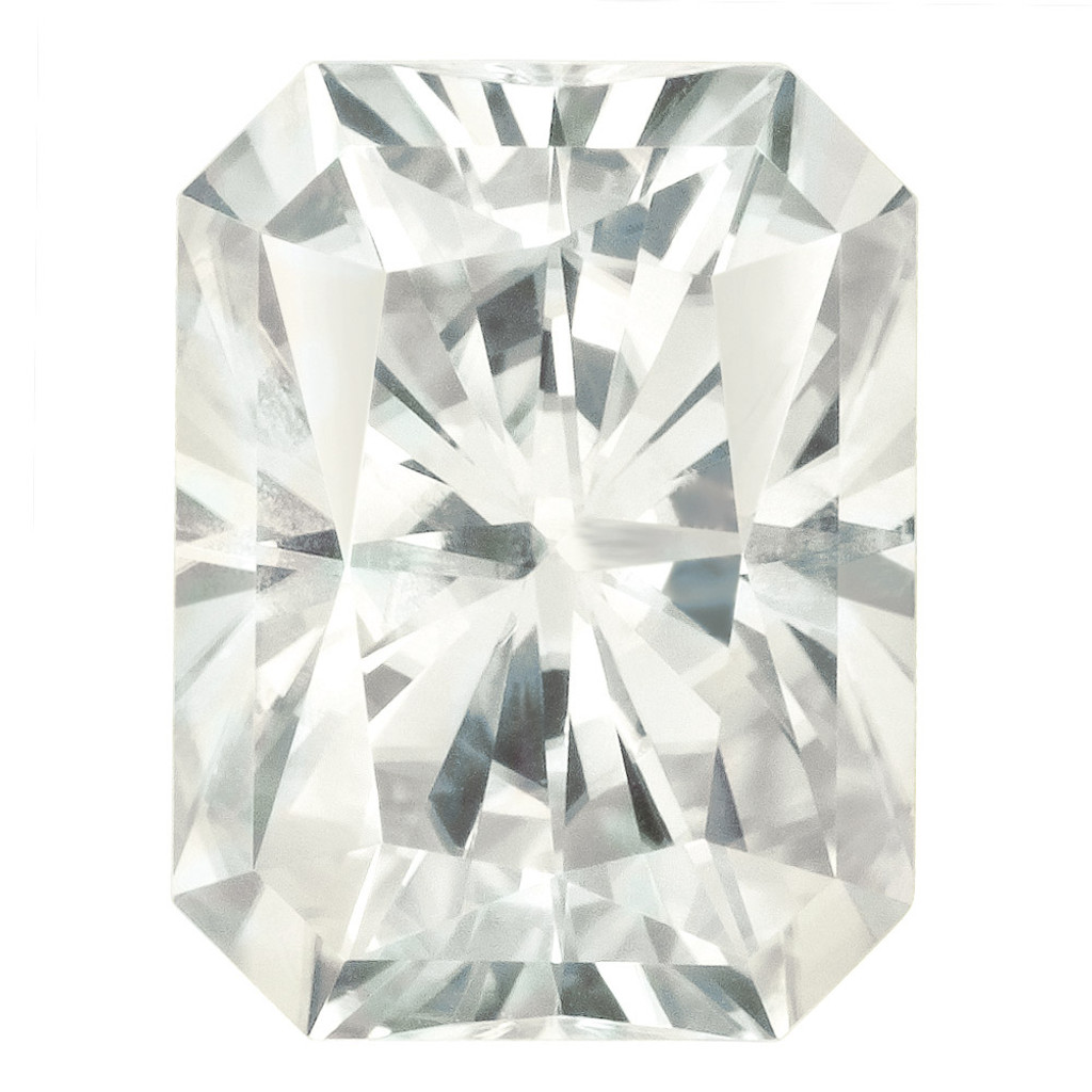 9X7 mm Oct Radiant Cut Moissanite Stone White MT-0907-OCR-WH