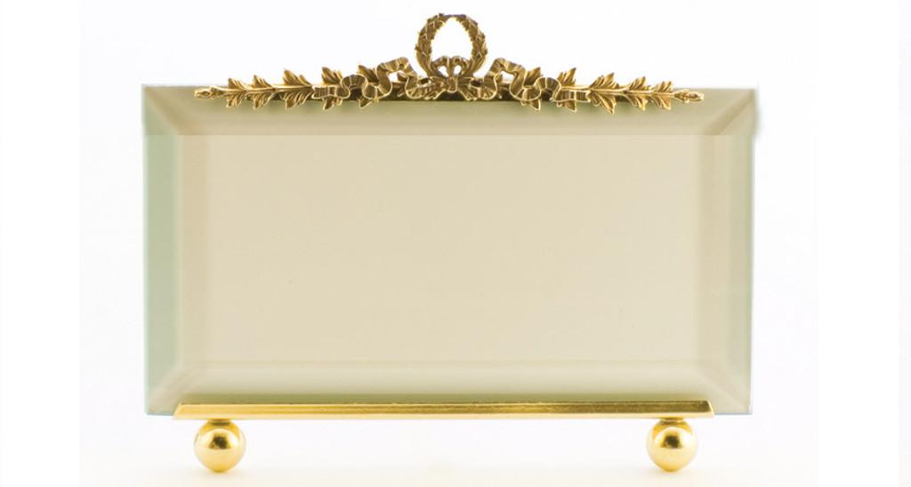 La Paris Garland 8 x 10 Inch Brass Picture Frame - Horizontal