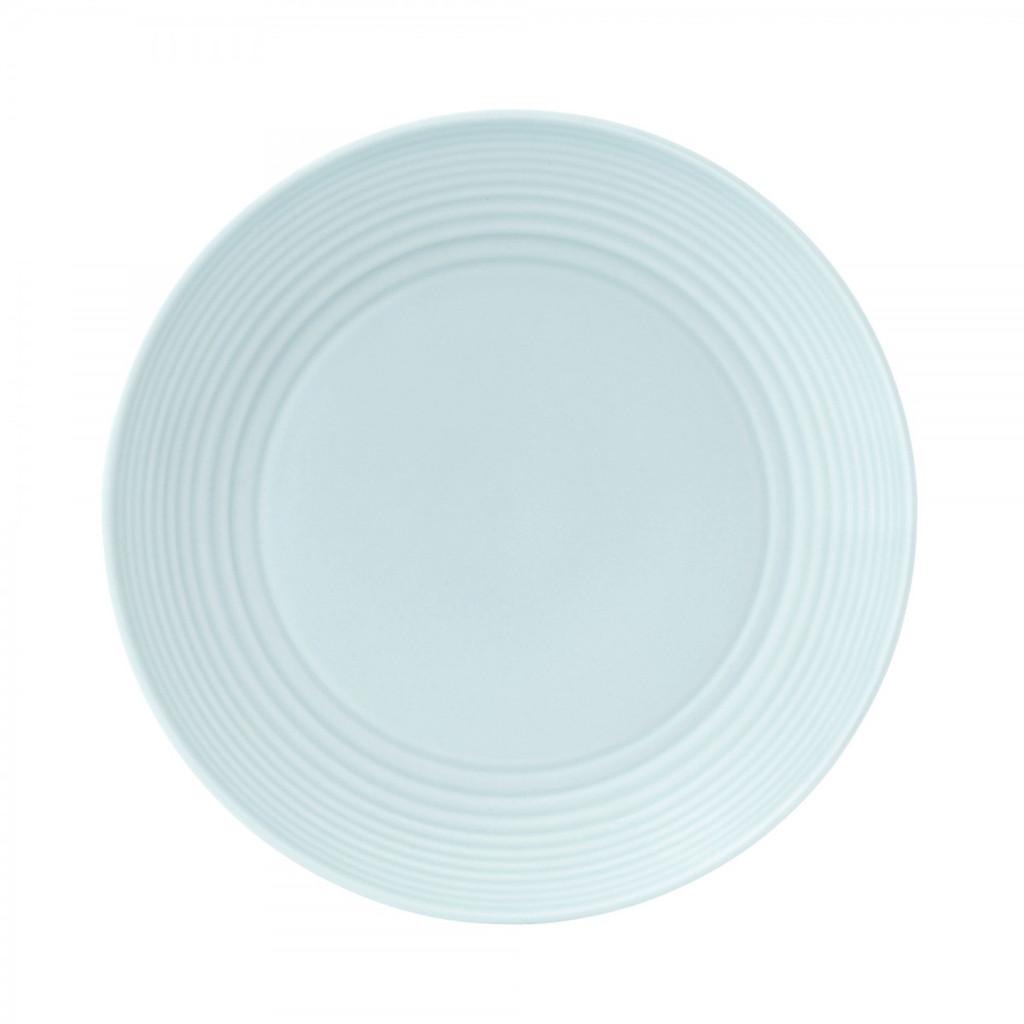 Royal Doulton Maze Blue Salad Plate 8.75 Inch