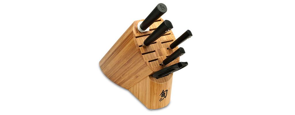 Shun Sora 6 Piece Basic Block Knives Set MPN: VBS0600