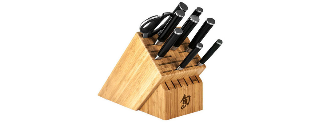 Shun Classic 10 Piece Chef's Knives Cutlery Block Set MPN: DMS1020