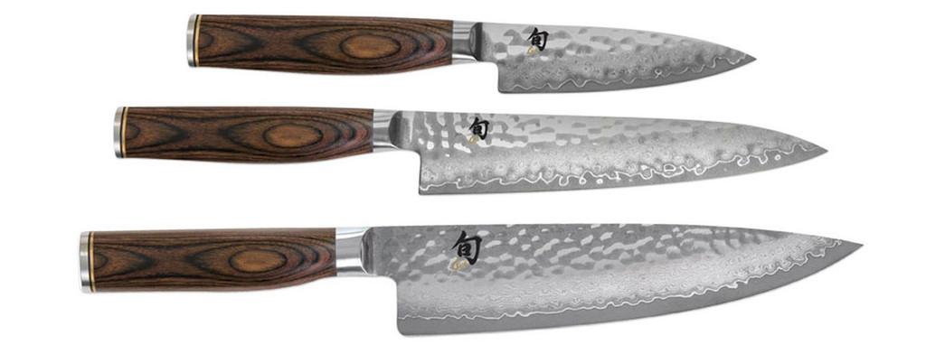 Shun Premier 3 Piece Starter Knives Cutlery Set MPN: TDMS0300