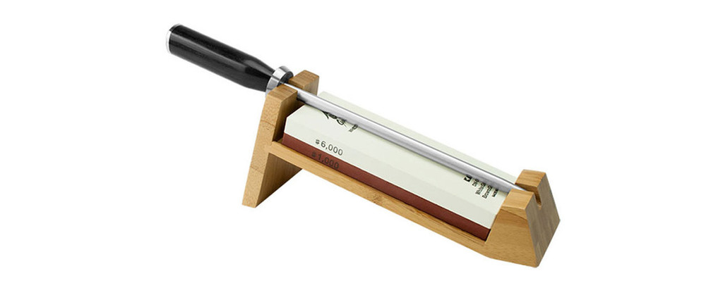 Shun 3 Piece Whetsone Sharpening System with Honing Steel MPN: DM0610