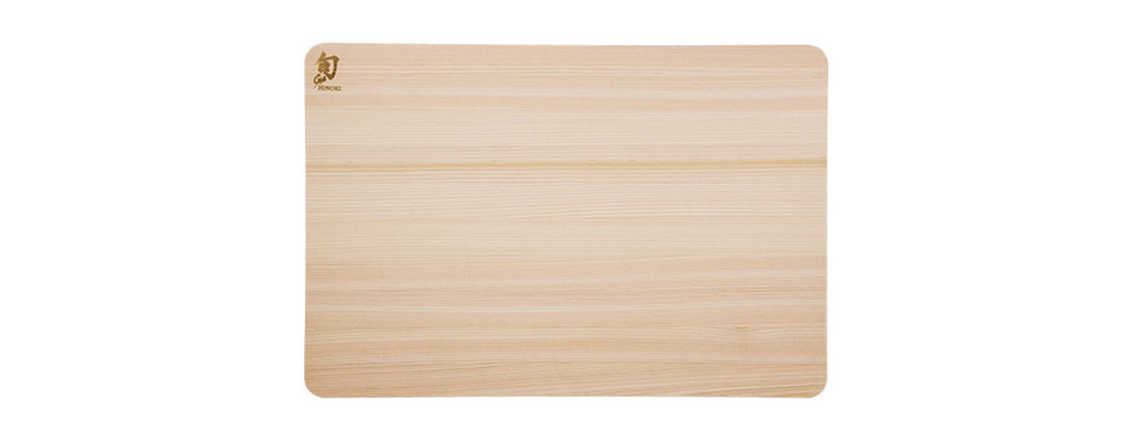 Shun Hinoki Cutting Board Medium MPN: DM0816