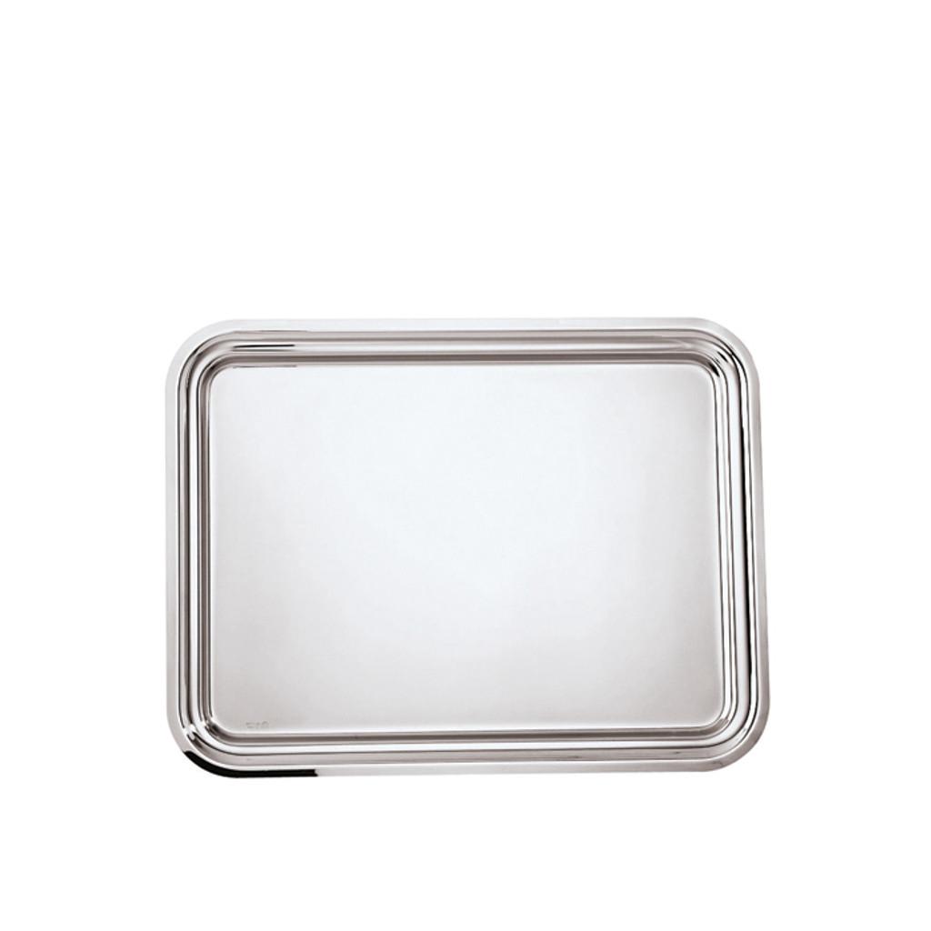 Sambonet elite rectangular tray 11 x 7 7/8 inch - 18/10 stainless steel MPN: 56020-28