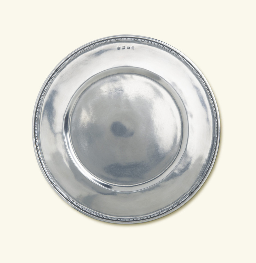 Match Pewter Toscana Charger Large