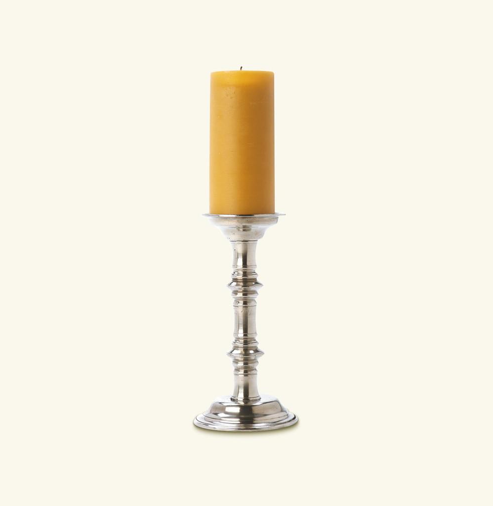Match Pewter Pillar Candlestick 836