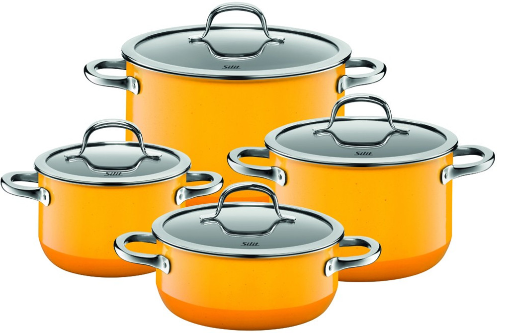 Silit Passion 8-pc Cookware Set Yellow, MPN: 21.0929.8175, UPC: 744004489897.