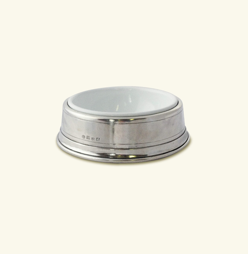 Match Pewter Pet Bowl Small  1344
