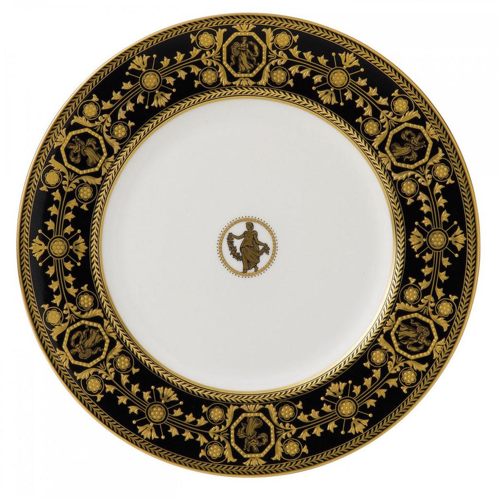 Wedgwood Astbury Black Dinner Plate 10.75 Inch MPN: 50100501004