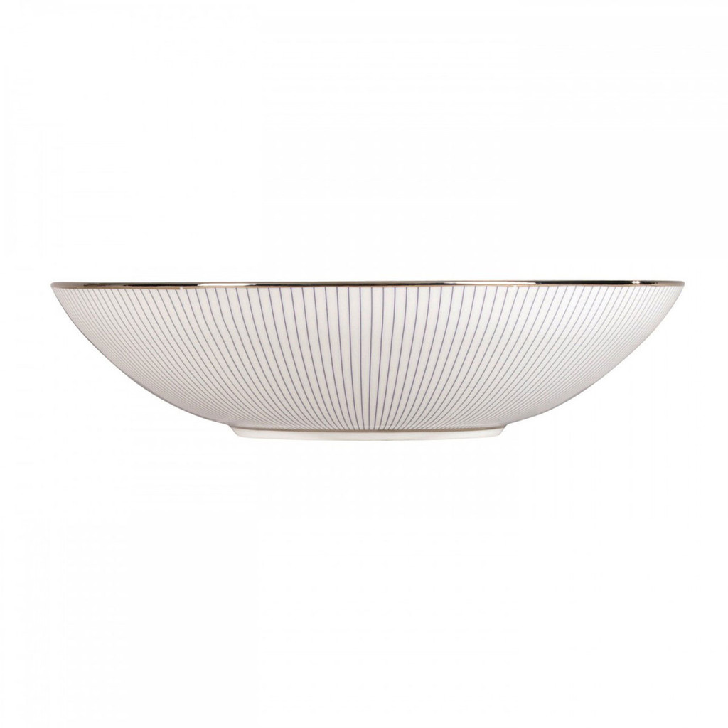 Wedgwood Jasper Conran Blue Pin Stripe Soup Plate 9 Inch MPN: 50150209593