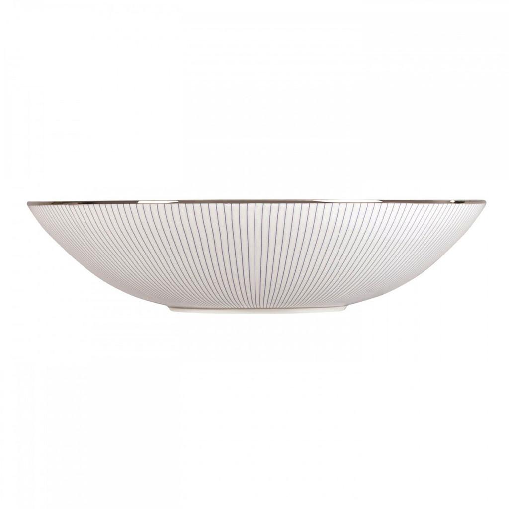Wedgwood Jasper Conran Blue Pin Stripe Cereal Bowl 7 Inch MPN: 50150209544