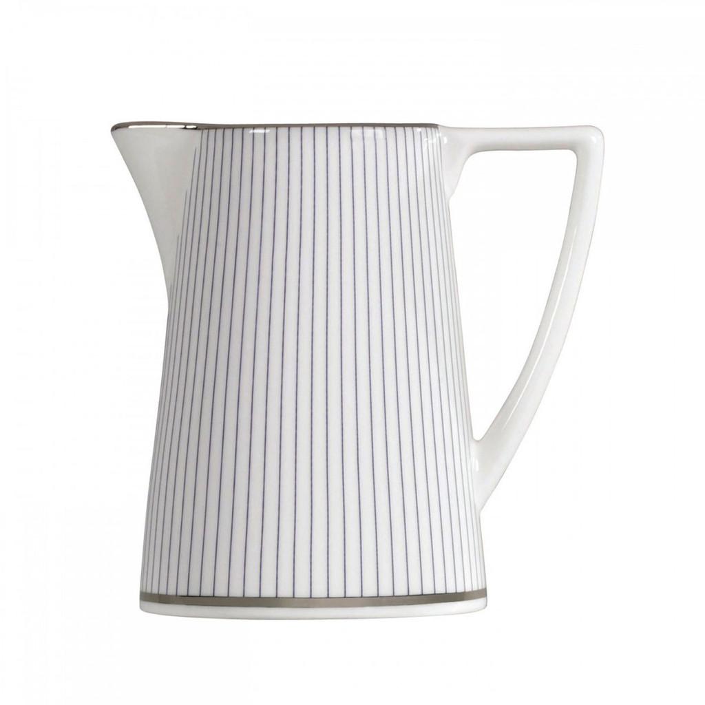 Wedgwood Jasper Conran Blue Pin Stripe Cream Jug 0.20 Ltr MPN: 50150209560