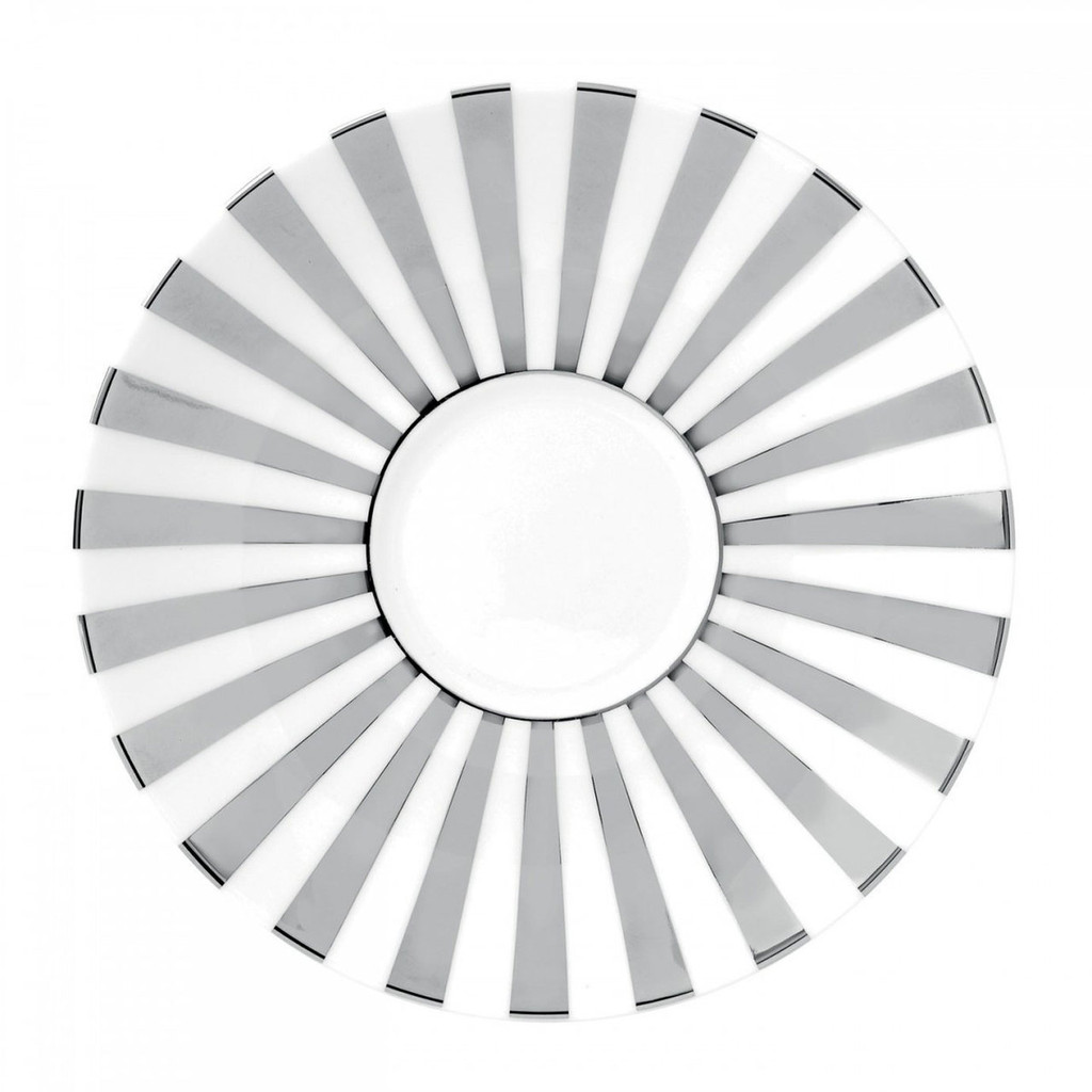 Wedgwood Jasper Conran Platinum Tea Saucer Striped MPN: 50161609645