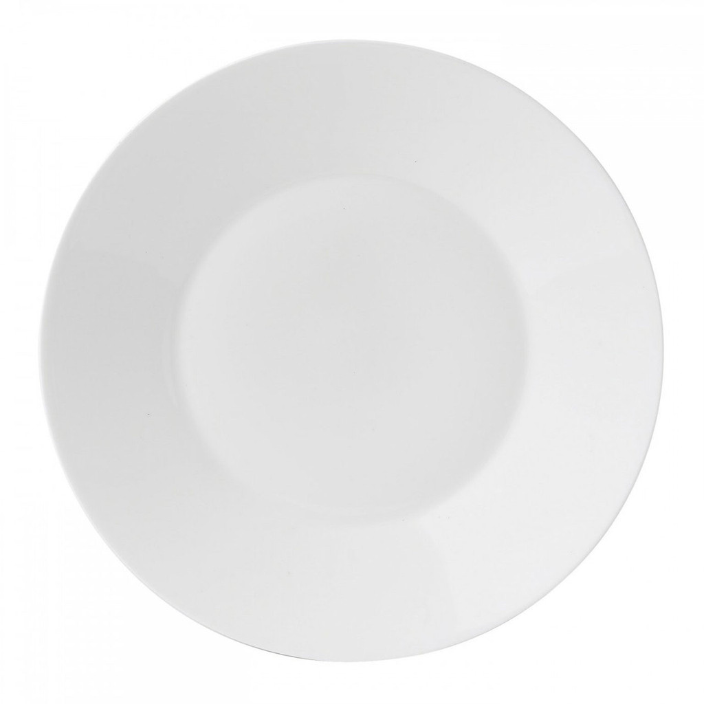 Wedgwood Jasper Conran White Bone China Salad Plate Plain 9 Inch MPN: 50191309541