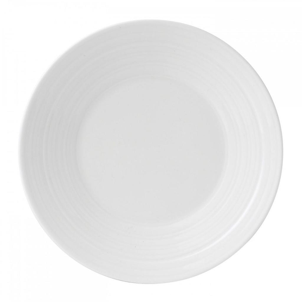 Wedgwood Jasper Conran White Bone China Bread and Butter Plate Swirl 7 Inch MPN: 50191309582