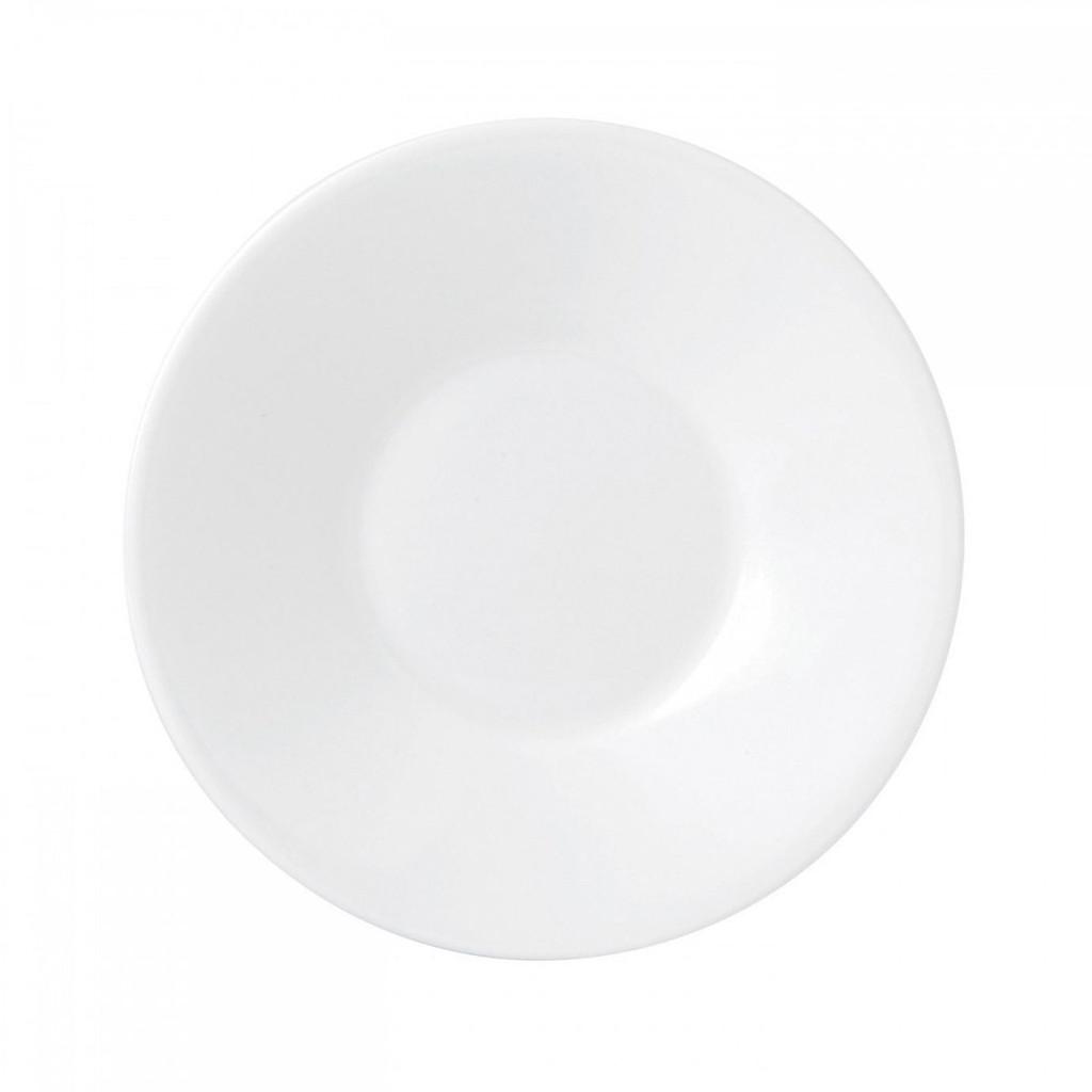 Wedgwood Jasper Conran White Bone China Espresso Saucer Plain MPN: 50191309554