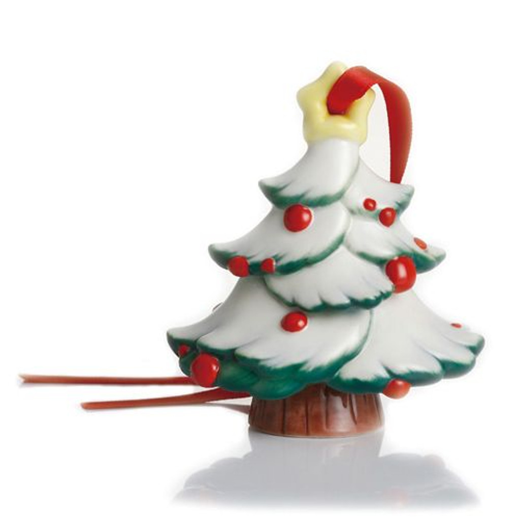 Franz Porcelain Holiday Greetings Christmas Tree Ornament FZ02303