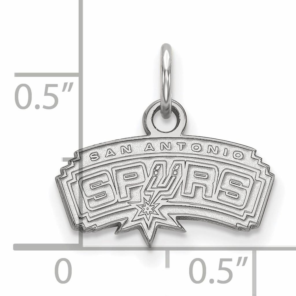 San Antonio Spurs Extra Small Pendant Sterling Silver SS001SPU