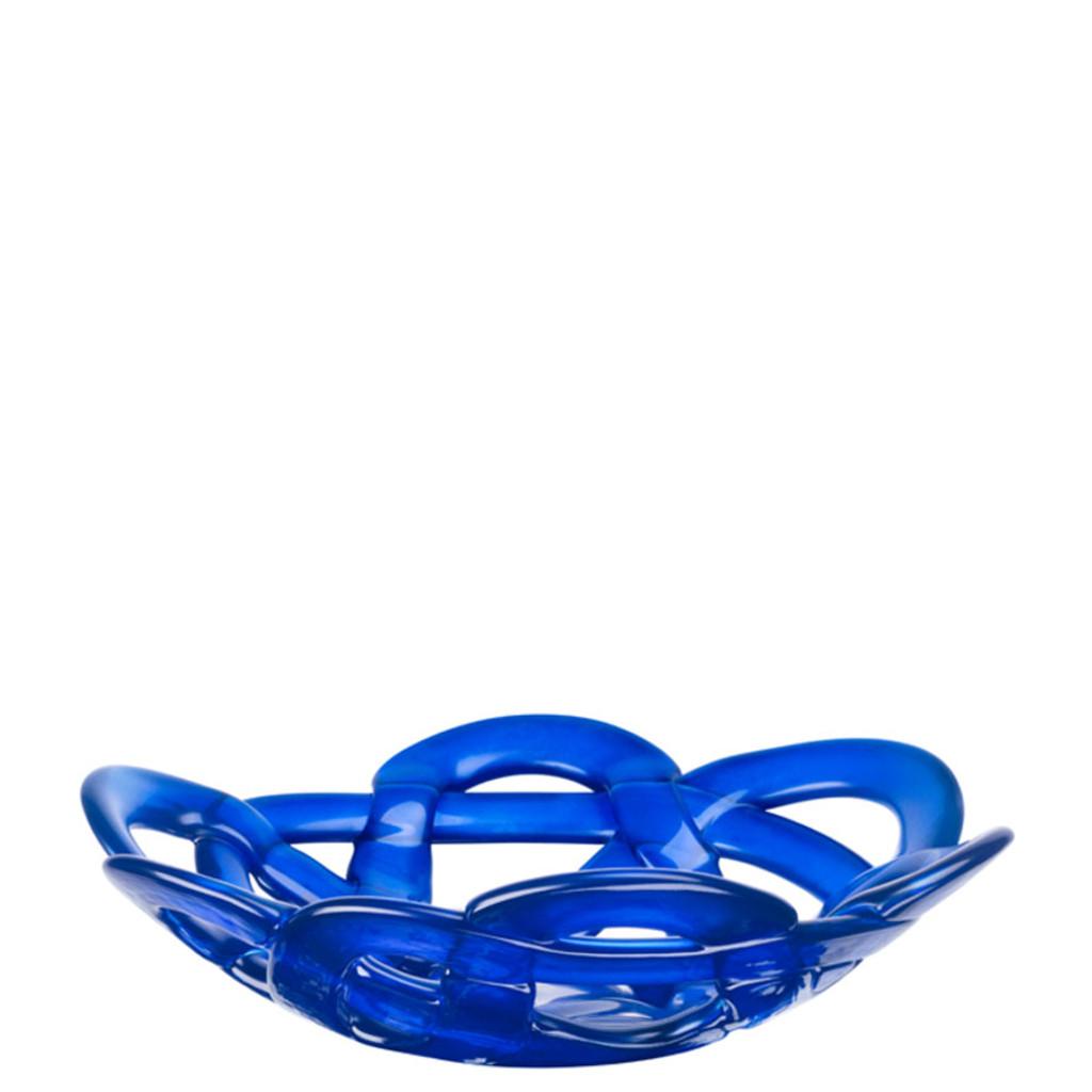 Kosta Boda Basket Bowl Blue Small MPN: 7051324 Designed by Anna Ehrner