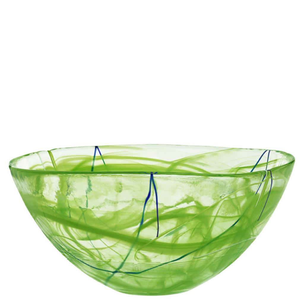 Kosta Boda Contrast Bowl Lime Large MPN: 7050514 Designed by Anna Ehrner