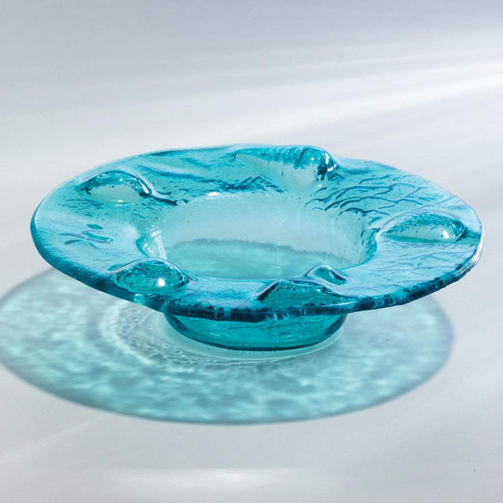 Annieglass Ultramarine Mini Splash Bowl 20 x 16 1/2 x 6 1/2 Inch MPN: U505