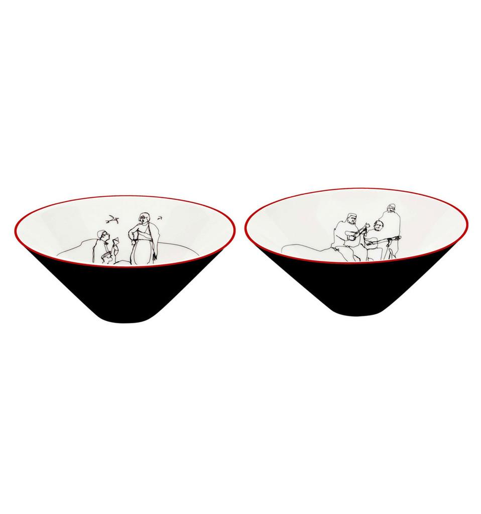Vista Alegre Fado Set 2 Small Bowls MPN: 21114580