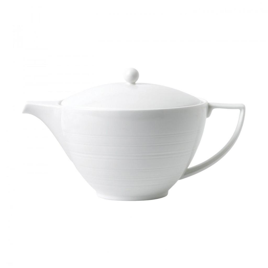 Wedgwood Jasper Conran White Strata Teapot MPN: 40021041 UPC: 701587293815 Wedgwood Jasper Conran White Strata Collection