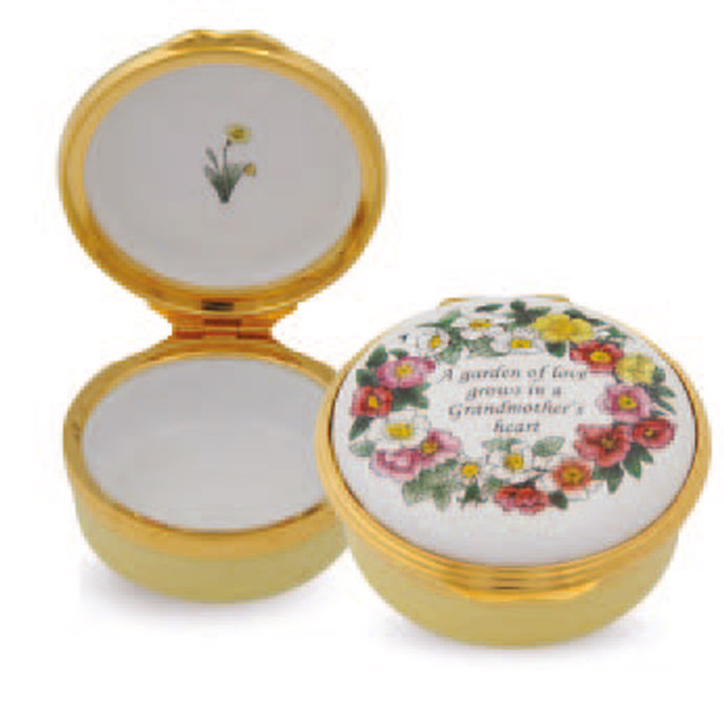 Halcyon Days Grandmother's Heart Box ENGGG0801G EAN: 5060171159162