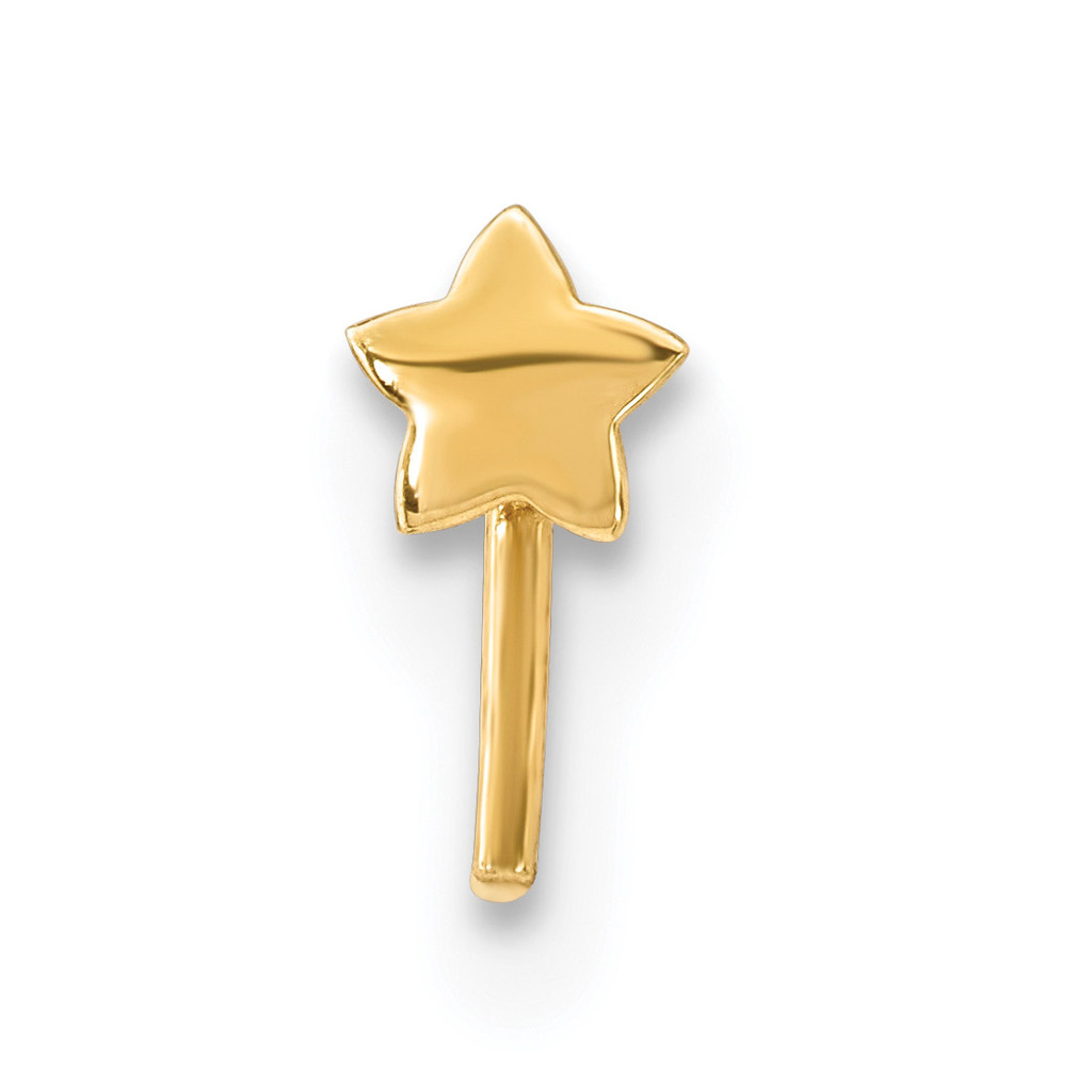 Star Nose Stud 14k Gold MPN: BD105