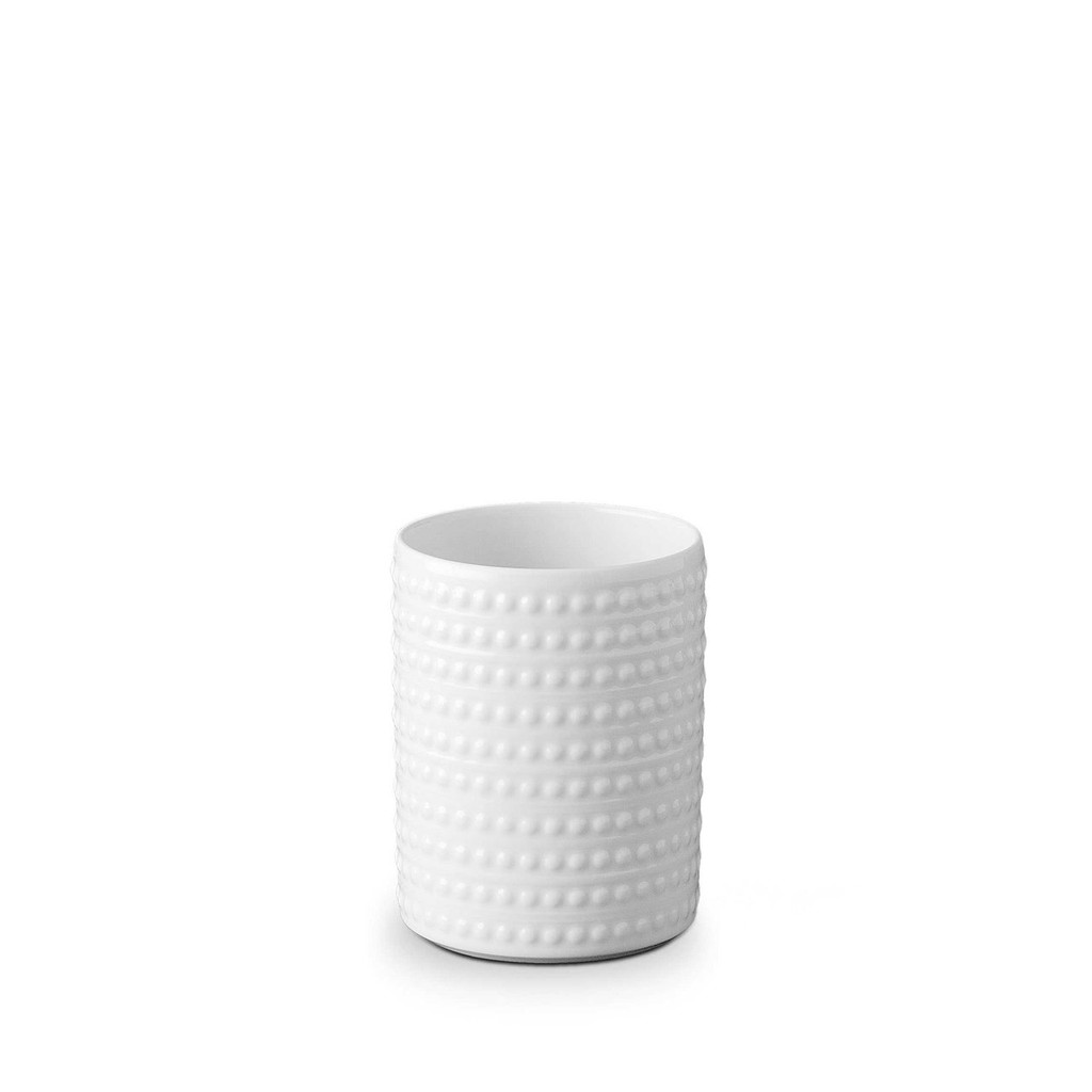 L'Objet Perlee Vase Small - White MPN: PR197
