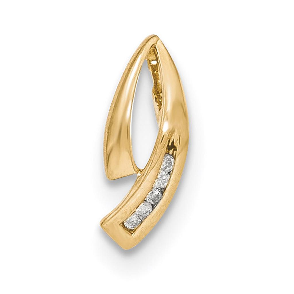 Yellow Gold Diamond Chain Slide 14k Gold MPN: XP5003A