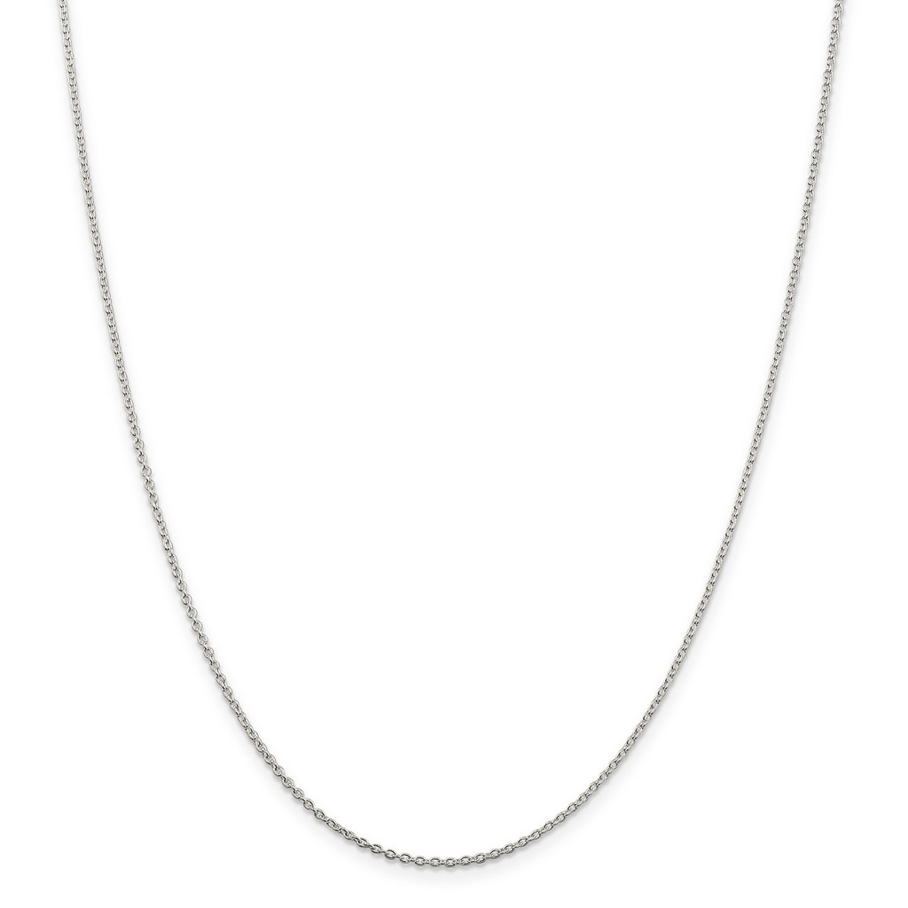 22 Inch 1.5mm Cable Chain Sterling Silver MPN: QCL040-22