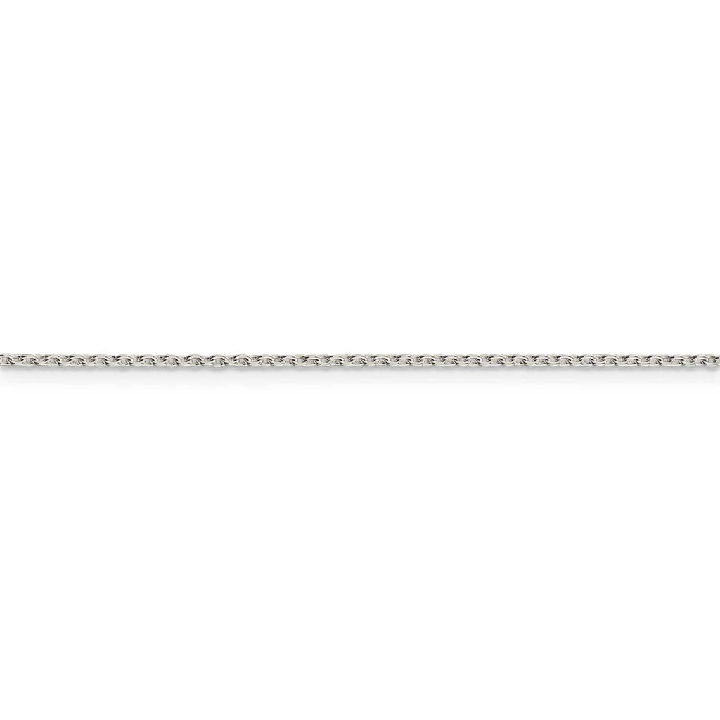 22 Inch 1.5mm Cable Chain Sterling Silver QCL040-22