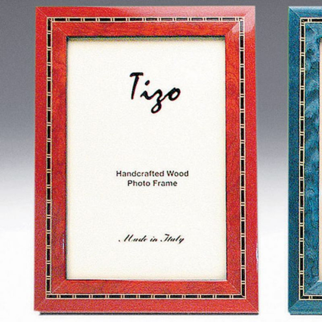 Tizo Persia 5 x 7 Inch Wood Picture Frame - Red