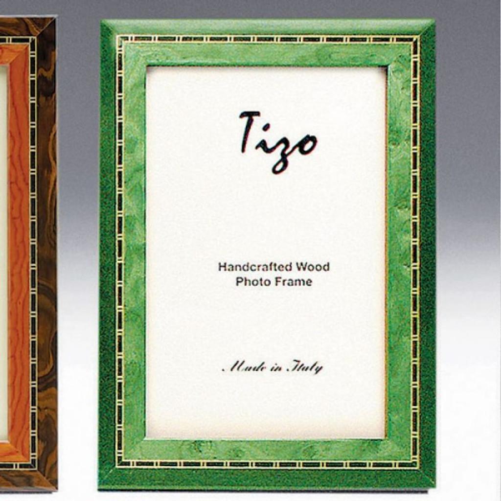 Tizo Persia 8 X 10 Inch Wood Picture Frame Green Homebello