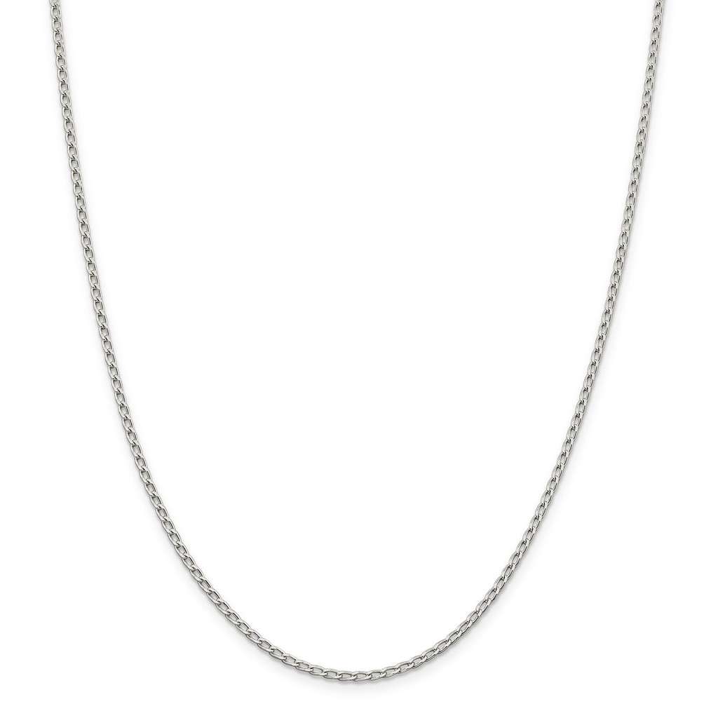 10 Inch 2.0mm Open Link Chain Sterling Silver MPN: QLL060-10, UPC: 886774422046