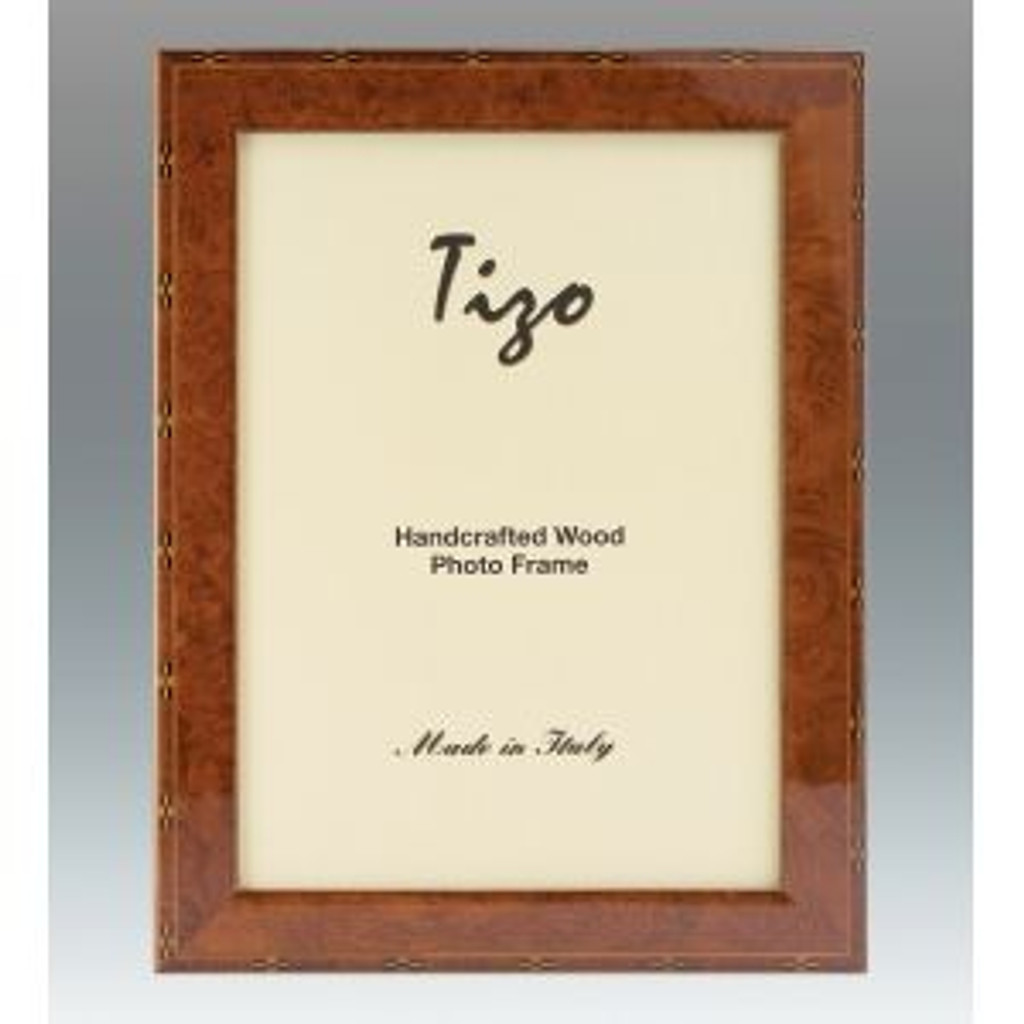 Tizo Nostalgia 8 x 10 Inch Wood Picture Frame - Brown